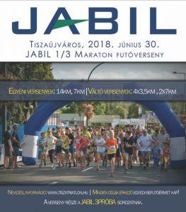 plakát Jabil futás kis méret